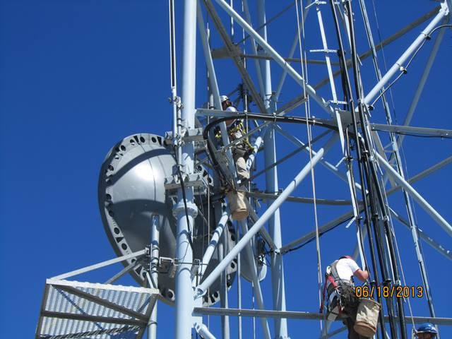 microwave towers repair