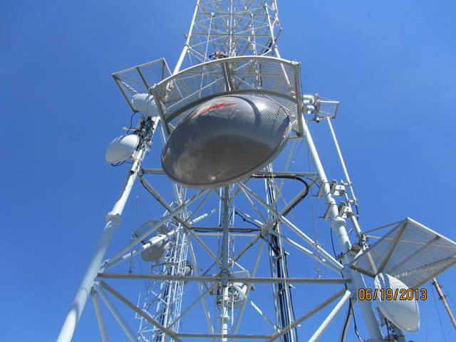 install microwave for internet communications