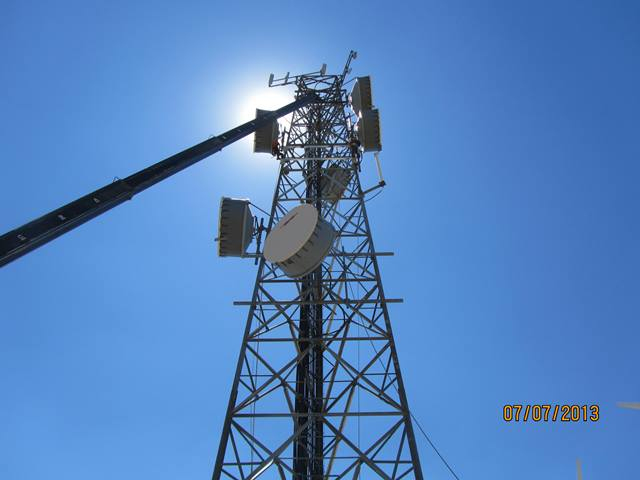 microwave antenna in telecom