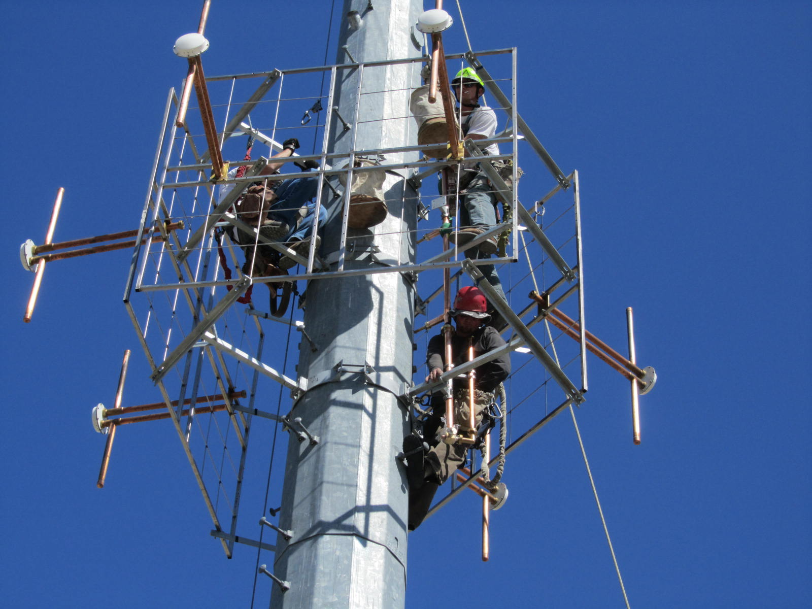 radio tower installers