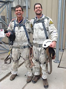 Beckman Tower tower installers